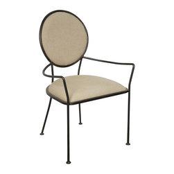 NOIR - Noir Furniture Sona Chair With Metal - NOIR Furniture - Sona Chair with Metal  - GCHA234MT