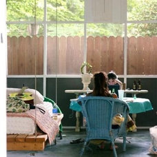 Eclectic  Sleeping Porch