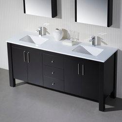 Double Bathroom Vanities - Double Bathroom Vanities