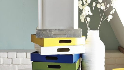 Square Lacquer Trays | west elm