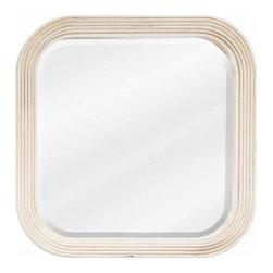 Elements - Bath Elements Telsa 26 X 26 Buttercream Mirror - Bath Elements Telsa 26 X 26 Butercream Mirror
