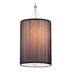 Hampstead Lighting - Organza Pendant Light - Organza Pendant Light