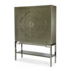 20th Jewels on the Bay Designer Showhouse - Century Furniture: Lotus Bar Cabinet
