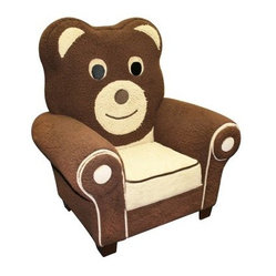 Harmony Kids Boy Bear Icon Chair
