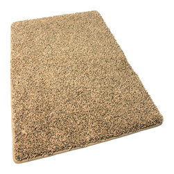 """Koeckritz - Stair Treads 9""""X27"""" Frieze Shag 45 oz Rug Carpet Edgy, Set of 13 - This rug is more of a frieze then it is shag. Soft and plush solution dyed 45 oz. 3/4 inch thick (pile height) polyester. Combines the best of innovation, craftsmanship and fashion. The yarn in this gorgeous rug is made of is 100% extra soft polyester, a carpet fiber that is not only incredibly soft, but exceptionally durable. The edges of these rugs are bound and finished with a matching soft, yet durable nylon fabric binding that is sewn to the edge of the rug for a very clean finish. Not to mention the speckled colors look great and would hide just about anything. Unsurpassed in quality and style without sacrificing affordability. In addition to their beauty and durability, Koeckritz area rugs are made from superior materials and the right colors to express your personal style. Koeckritz area rugs are the premium choice when it comes to color and value as they provide unique interpretations for traditional and modern interiors. Decorate the office, den, living room, dining room, kitchen or bedroom. This rug will accent and add life to any room. Due to so many custom sizes available, some rugs will require a seam. This is done on the underside of the area rug with a special seam tape. The seam will be invisible. *Please Note that size and color representation are subject to manufacturing variance and may not be exact. Also note that monitor settings may vary from computer to computer and may distort actual colors. Photos are as accurate as possible; however, colors may vary slightly in person due to flash photography and differences in monitor settings. Each rug/carpet is manufactured with the same colors as pictured"""