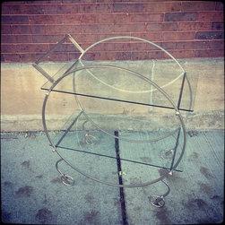 Deco Style Bar Cart - http://krrb.com/foundvintageliving