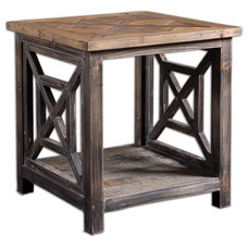 Rustic Side Tables And Accent Tables by Fratantoni Lifestyles