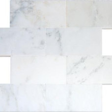 MSI Stone ULC | Greecian White 3 in. x 6 in. Polished Marble Floor & Wall Tile (