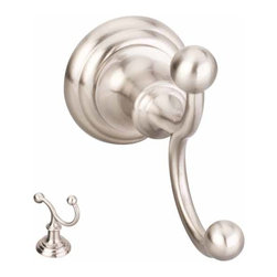 Hardware Resources - Elements Conventional Robe Hook (HR-BHE5-02SN) - Elements Conventional Robe Hook