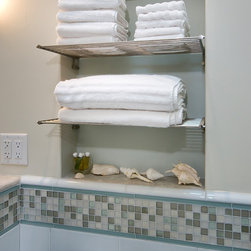Stainless Steel Towel Rack - Stainless Steel Towel Rack by Cool Lines USA in Bill Fry project