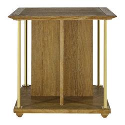 Brownstone Furniture Atherton Teak End Table - Atherton cerused teak end table is made of oak and subtly cerused.