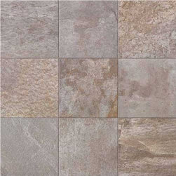 """Unicomstarker - Quarzite Grey 6"""" x 6"""" - This Italian porcelain line from UnicomStarker replicates quartzite stone with liveliness and splendor. Highly influenced by light, the quartzite line's products turn floors into pure emotion."""