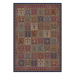 Brilliance 0804 Multi Area Rug - 5 ft 3 in x 7 ft 7 in - Machine made of 100% polypropylene, the Brilliance Collection is an exceptional value and adds a sense of sophistication to any room.