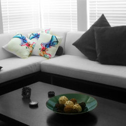 Modern House Decoration Color Smoke Throw Pillows - ambiancedesignonline.com