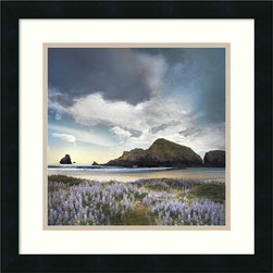 Amanti Art - William Vanscoy 'Sweet Illusion' Framed Art Print 18 x 18-inch - Hear the coast call through the luminous photography of William Vanscoy.  This framed art print makes the perfect complement to any beach lover's decor.