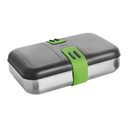 Blomus - Blomus 2GO Lunchbox - This Lunchbox by Blomus and part of the 2Go collection is made with stainless steel, silicone and plastic. Enjoy your lunch in style.