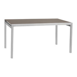 Sifas In-Outdoor Living - Sifas In-Outdoor Ec-Inoks Dining Table, 100cm - The Ec-Inoks Dining Table was inspired -- from initial concept to final realization -- by strict methods of conception and design.