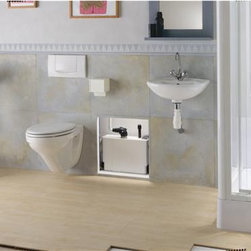 Saniflo Sanipack - Install a Toilet Anywhere You Want.  High Level Of Styling.