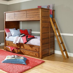 Elite Logan County Twin Bunk Bed