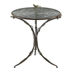 Cyan Design - Cyan Design Lighting 01644 Bird Bistro Table - Cyan Design 01644 Bird Bistro Table