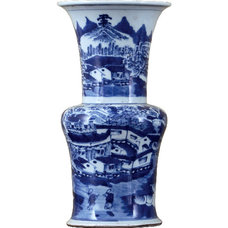 Asian Vases by Shan Hill Design