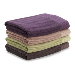 Soho - Soho Bath Towel - These thick, luxurious towels are made from a blend of modal and cotton to achieve a great silky feel and superior color retention. Modal is an all natural fiber made from cellulose.