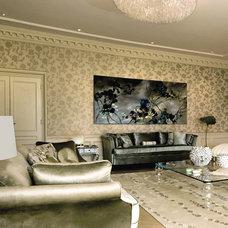 Transitional Living Room Architecta Interiors