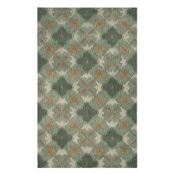 Hand-tufted Averlo Blue Area Rug (8' x 10') -