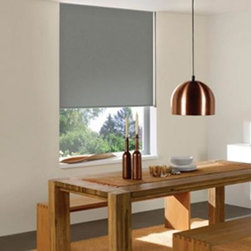 Economy Room-Darkening Roller Shade - If I do decide to go with blackout shades, these are affordable and come in a variety of colors. I'm so glad blackout shades can be white!
