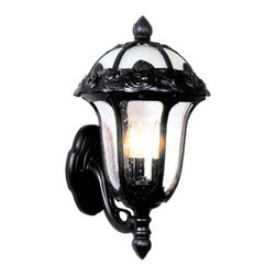 Special Lite - Special Lite F-3717 Rose Garden 1 Light 22.75 Inch Tall Outdoor Wall Sconce - Special Lite F-3717 Rose Garden One Light 22.75 Tall Outdoor Wall SconceFeel the elegance and romance of the Rose Garden 22.75 inch tall bottom mount wall sconce featuring a gently curved arm designed to resemble a branch, embossed rose and leaf motifs spread throughout, and decorative finials. This gorgeous light will add warmth and style to your home like no other decor can.Special Lite F-3717 Features: