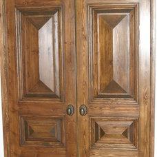 Mediterranean Interior Doors by Stewart Brannen Millwork