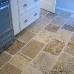 Mediterranean Kitchen Tiles and Stones - Image provided by 'Ancient Surfaces'