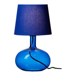 Anne Nilsson - LJUSÅS UVÅS Table Lamp - Add a splash of color to any room with this lamp. It would look great next to an all-white bed. Spice it up!