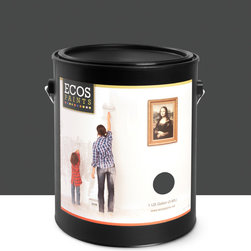 Imperial Paints - Eggshell Wall Paint, Gallon Can, Black Velvet - Overview: