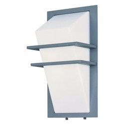 ET2 - ET2 E21051 Zenith II 2 Light Outdoor Wall Sconce - Product Features: