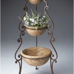 Butler Metalworks Planter 42H in. - About Butler SpecialtyButler Specialty Company has been designing and manufacturing high-quality occasional and accent furniture since 1930. Each piece reflects Butler's dedication to enduring design, exquisite craftsmanship, and top-quality materials. This family-owned company is based in Chicago. They scour the globe in search of the finest materials and most efficient means of production, reflecting their commitment to providing excellent quality at exceptional value.
