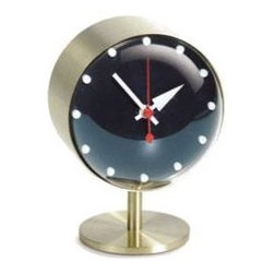Vitra - Night Clock by Vitra - A classic timeless design! This beautiful Night Clock was designed by George Nelson in 1948 and has become an Icon of Modern Design.  This is an authentic re-edition, fully authorized by the Nelson estate.