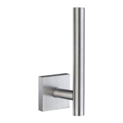 """Smedbo HOUSE Toilet Paper Holder RK320 - House - Spare Toilet Roll Holder. Meant for one roll. Concealed fastening. Height 5"""""""
