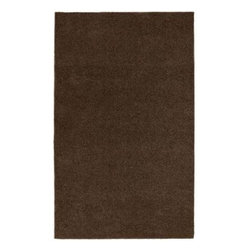 Garland Rug - Bath Mat: Area Rug: Room Size Chocolate 5' x 6' Bathroom - Shop for Flooring at The Home Depot. Our classic wall to wall bathroom carpet is large enough to cover most bathroom floors. These plush 100% nylon rugs are available in a variety of classic solid colors. Made in the USA.