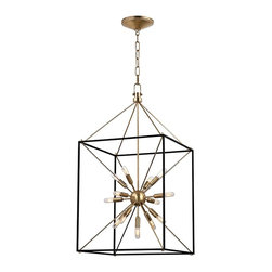 Starburst Light Ray Hanging Lantern Large -
