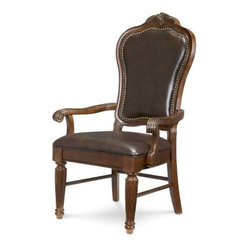 A.R.T. Furniture Regal Upholstered Back Arm Chair