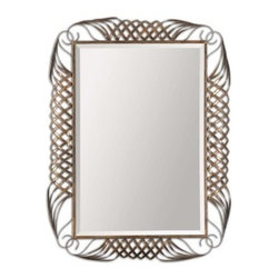 Uttermost Francica Mirror - 33W x 44H in. - About UttermostThe mission of the Uttermost Company is simple: to make great home accessories at reasonable prices. This has been their objective since founding their family-owned business over 30 years ago. Uttermost manufactures mirrors, art, metal wall art, lamps, accessories, clocks, and lighting fixtures in its Rocky Mount, Virginia, factories. They provide quality furnishings throughout the world from their state-of-the-art distribution center located on the West Coast of the United States.