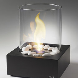 Love Box Ethanol Table Top Fire Feature -