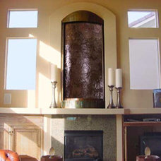 Indoor Fountains by Custom Water Feature Design