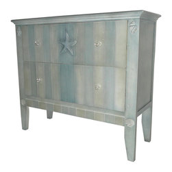 Sterling Industries - Sterling Industries 137-010 Golden Glades-Chest Of Drawers In Shoreline Blue - Chest (1)