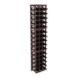 Wine Racks America - 3 Column Magnum/Champagne Wine Kit in Pine, Burgundy + Satin Finish - Easy to expand or add to an existing cellar, this Magnum wine racking kit is designed for ultimate flexibility. Our specialized magnum rack accommodates 2 whole cases of abnormally shaped bottles, and then some! We promise this rack will stand up to the test of time.
