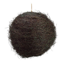 Silk Plants Direct - Silk Plants Direct Mini Leaf Twig Ball Ornament (Pack of 1) - Silk Plants Direct specializes in manufacturing, design and supply of the most life-like, premium quality artificial plants, trees, flowers, arrangements, topiaries and containers for home, office and commercial use. Our Mini Leaf Twig Ball Ornament includes the following: