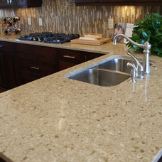 Contemporary Kitchen Countertops by Accent Interiors