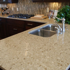 contemporary kitchen countertops by Accent Surfaces