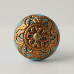 eclectic knobs by Rebekah Zaveloff